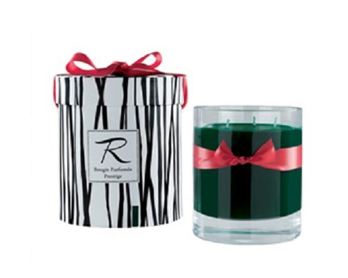 Rigaud Paris, Cypres Bougie Parfumee Prestige, Large 3-wick ''Prestige'' Model Candle, Green, 6'' Tall, 150 Hours Burn, 26.5 Oz, Made in France by Rigaud Paris (Image #1)