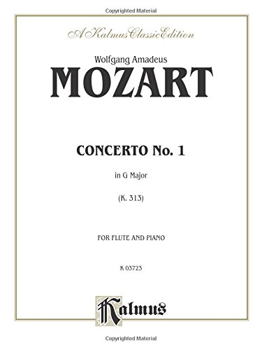 Flute Concerto No. 1, K. 313 (G Major) (Orch.): Part(s) (Kalmus Edition) - Orch Parts