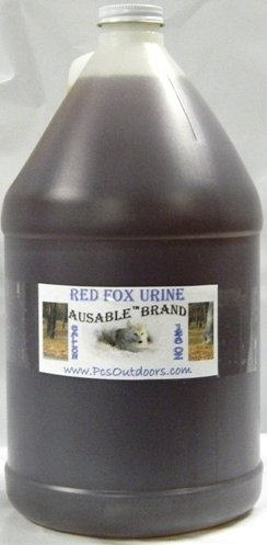 AuSable® Brand Red Fox Urine 1 Gallon of Pure Red Fox (Fox Urine)