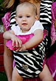 Baby Carrier Cover in Zoe Zebra – Carrier Type: Original