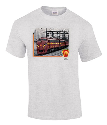 Pennsylvania RR E Units at 39th Street T-shirt Adult XX-Large ()