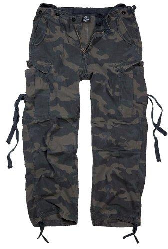Brandit M65 Vintage Trousers Hose darkcamo XXL