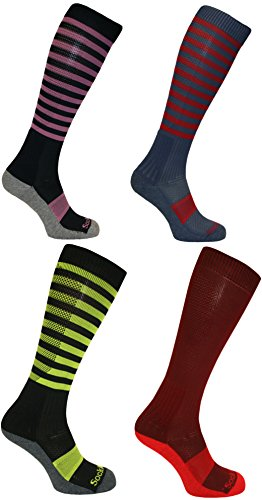 William Hunter Equestrian SockMine Coolmax - Calcetines Largos para equitación de Caballo, Color Chatsworth,