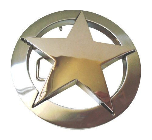 Famous Star Belt Buckle - Famous Star Marshall Law Texas Star Belt Buckle