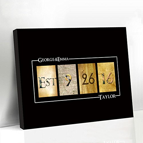 Larmai Black Guest Book for Home Personalized Guestbook Wedding Alternative Wedding Favors Wedding Decorations Gifts Ideas