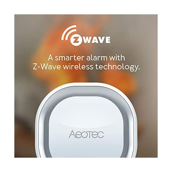 Aeotec Z-Wave Siren 6, Altoparlante di Sicurezza e Sicurezza con Z-Wave Plus S2, Allarme Anti-intrusione a Parete e luce… 4 spesavip