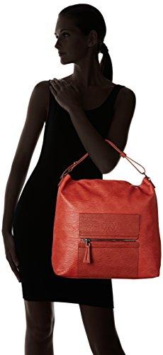 Le Temps des Cerises Kaori 2, Bolso Mujer, talla única Rojo (terracotta Rouge Terracotta Claire Aa10)