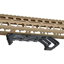 AIMTIS M-LOK Handguard Foregrip Tactical Handstop Kit KeyMod Metal Angle Hand Stop Accessory For AR15