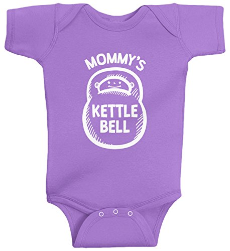 Threadrock Mommys Kettlebell Infant Bodysuit product image