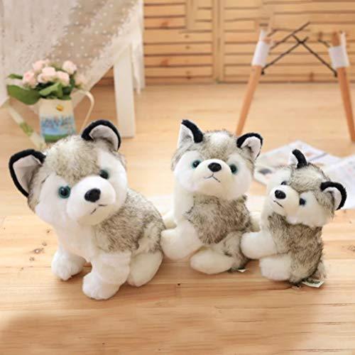 Christmas gifts 18/22/28 cm husky plush dog for gift plush toys stuffed doll toy baby -