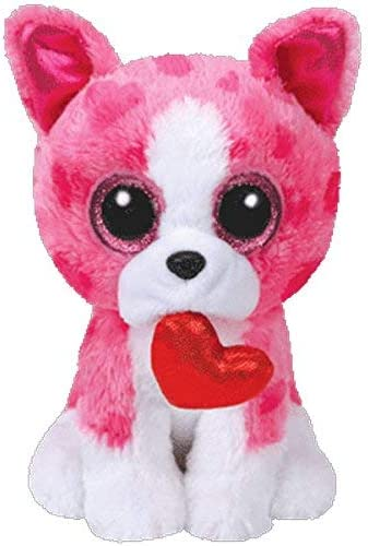 "New Valentine/'s Day 2018 Medium Buddy 9/"" Genuine Ty Beanie Boos ROMEO the Dog"
