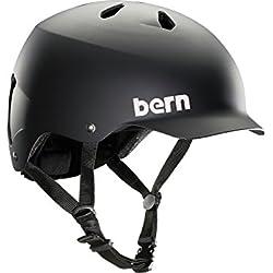 Bern Unlimited Watts EPS Summer Helmet, Matte Black, L/XL