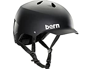Bern Unlimited Watts EPS Summer Helmet, Matte Black, S/M