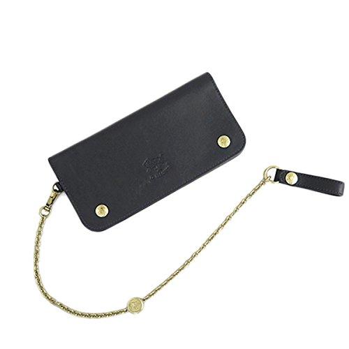 イルビゾンテ ILBISONTE 長財布 メンズ レディース C0486P-153 ブラック 財布小物 財布 短財布 mirai1-560196-ak [並行輸入品] [簡易パッケージ品] B07FQRM7S1