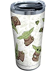 Tervis Star Wars - The Mandalorian Insulated Tumbler, 20oz - Stainless Steel, Child Playing