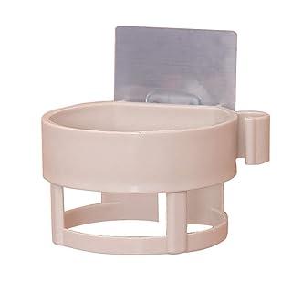 Secador de Pelo Cuarto de baño Titular del ABS Pared Soporte Resistente Adhesivo del Soporte del Montaje en Rack de Almacenamiento Aseo Regard Regard Natral