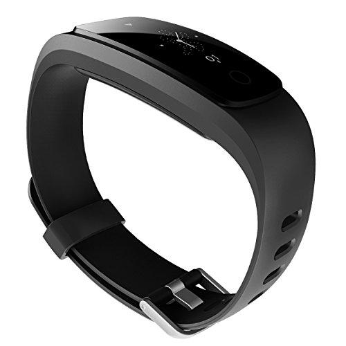 HUG Elan Advanced Multisport Fitness Tracker (Midnight Black)