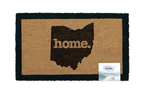 Home State Apparel Ohio Home Coir Door Mat