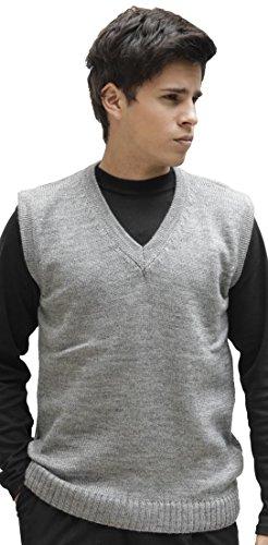 V-Neck Wool Vest - 7