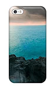 AnnaSanders Iphone 5/5s Hybrid Tpu Case Cover Silicon Bumper Blue Waters Photography R People Photography