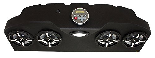 Froghead Industries CCP304LB Four Speaker Bluetooth AM/FM Stereo System With LED Light Bar And RGB LED Speakers by Froghead Industries (Image #4)