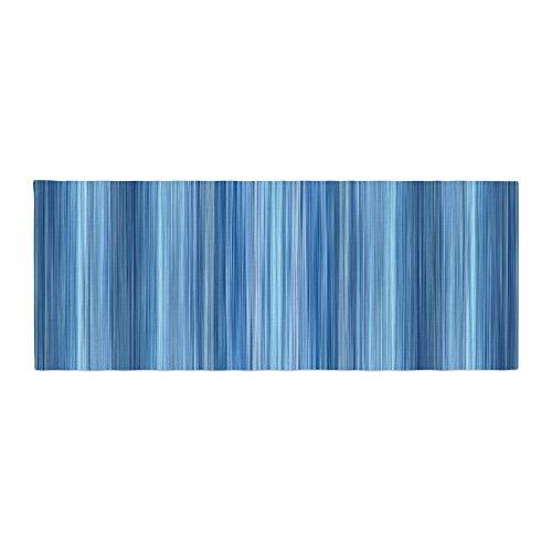Kess InHouse Bruce Stanfield Ambient #1'' Teal Digital Bed Runner, 34'' x 86'' by Kess InHouse