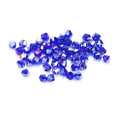 iZasky Glass Crystal Beads 4mm (0.16
