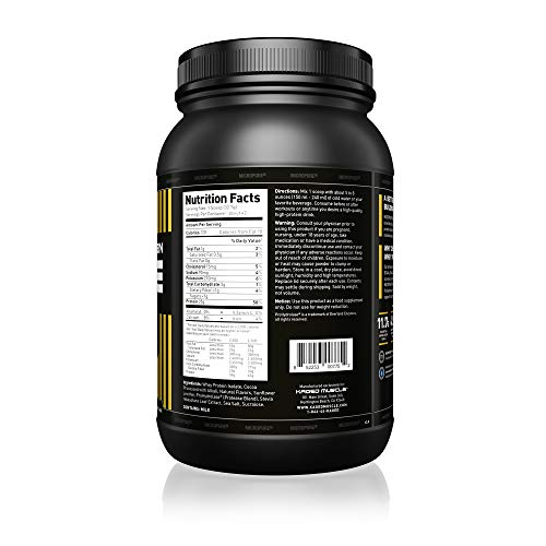KAGED MUSCLE – MicroPure Whey Protein Isolate, Whey, Chocolate, Whey Protein Powder, Boost Reocovery, Post Workout, Whey Protein Isolate, Chocolate, 3lbs
