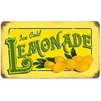 Lemonade Food and Drink Vintage Metal Sign - Victory Vintage Signs]()