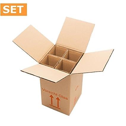 1 unidad del paquete (15 unidades) Cajas de Cartón para 4 ...