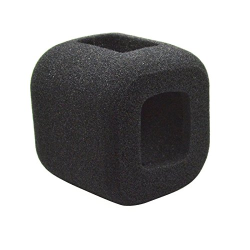 TOOGOO Wind Noise Reduction Windproof Sponge Foam Cover for Gopro Hero 5 4 Session Cam 142702