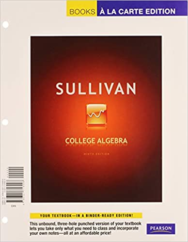 Algebra And Trigonometry Sullivan 9th Edition Pdf