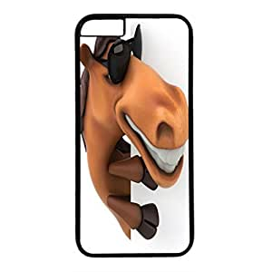 DIY iPhone 6 Plus Case Cover Custom Phone Shell Skin For iPhone 6 Plus With Cartoon Horse