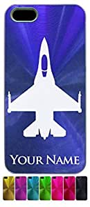 iPhone 5/5S Case/Cover - F16 FIGHTER JET - Personalized for FREE
