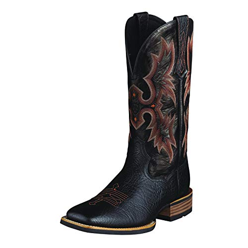 ARIAT Men's Tombstone Western Boot Black Size 7 M Us