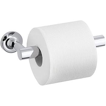 KOHLER K-14377-BGD Purist Pivoting Toilet Tissue Holder