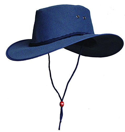 Kakadu Canvas Hat - Kakadu Traders Australia Cape York Canvas Hat, Navy, XX-Large