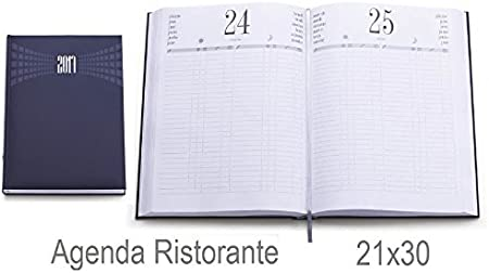 BLU MATRA AGENDA GIORNALIERA 2019 A4 COL