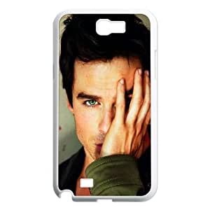 Hjqi - Personalized Ian Somerhalder Cell Phone Case, Ian Somerhalder Customized Case for Samsung Galaxy Note 2 N7100