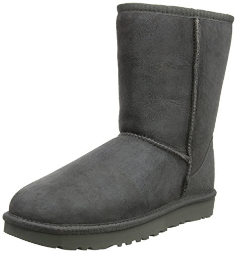 UGG Australia Women's Classic Short Grey Sheepskin  Boot - 8 B(M) US from UGG