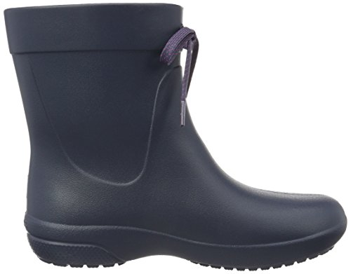 Freesail Shorty Crocs Di Donna Stivali W Rainboot navy Blu Gomma a65qw