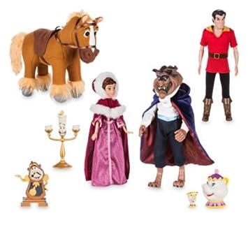 sélectionner pour authentique grande sélection site web pour réduction Ensemble de poupées de luxe La Belle et La Bête: Amazon.fr ...