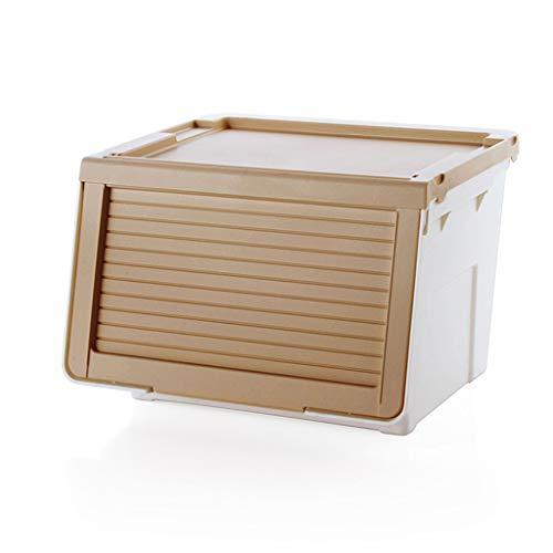 Compartimientos de almacenamiento con tapa extraíble para almacenar alimentos / verduras / frutas / juguetes, gabinetes de...