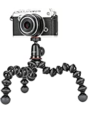 JOBY GorillaPod 1K Kit Compact Tripod 1K Stand and Ballhead 1K for Compact Mirrorless Cameras or devices up to 1k (2.2lbs),Black/Charcoal.