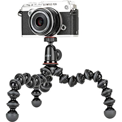Joby JB01503 GorillaPod 1K Kit. Compact Tripod 1K Stand and Ballhead 1K for Compact Mirrorless Cameras or Devices up to…