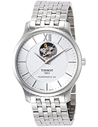 Tissot Tradition Silver Dial Automatic Mens Watch T0639071103800