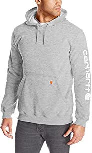 Carhartt Men's Midweight Sleeve Logo Hooded Sweats