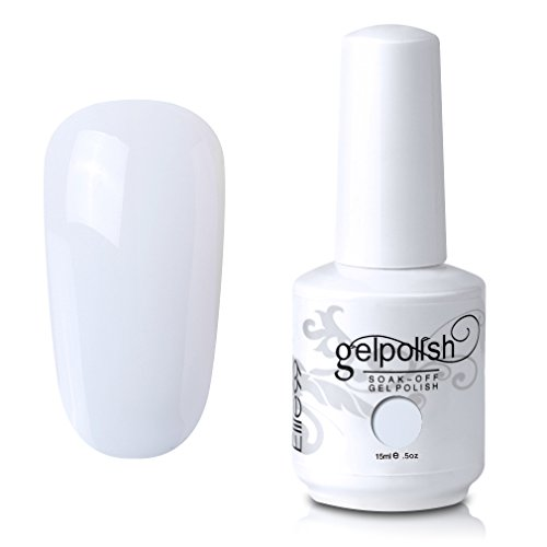 Elite99 Gel Nail Polish Soak Off White Gel Nail Varnish Cure