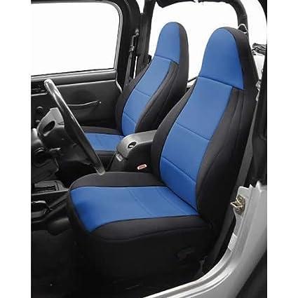 Coverking Custom Fit Seat Cover For Jeep Wrangler TJ 2 Door   (Neoprene,