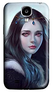 Brian114 Samsung Galaxy S4 Case, S4 Case - Customized 3D Designs Snap-on Case for Samsung Galaxy S4 I9500 Moonlight Shine 2 Best Protective Back Case for Samsung Galaxy S4 I9500